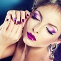 Девушка с макияжем - Girl with make-up
