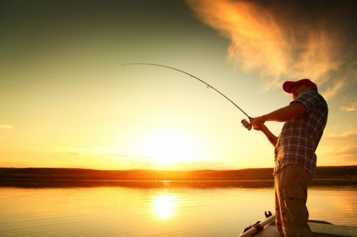 мужчина рыбак фото