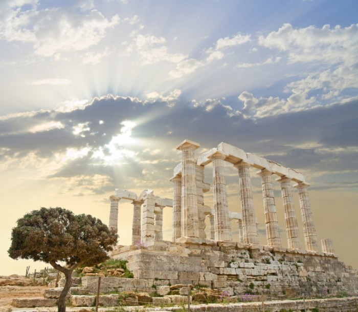 Poseidon Temple Fotolia 4233010 700x609 Архитектурное сооружение   Architectural building