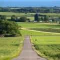 Пейзаж долины с дорогой - Landscape of the valley with the road