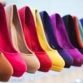 Туфли разных цветов - Shoes of different colors