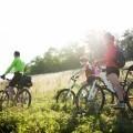 Семья на велосипедах - Family on bicycles