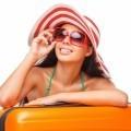 Девушка в шляпе и очках - Girl in a hat and sunglasses