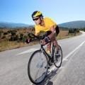 Велосипедист на дороге - Cyclist on road