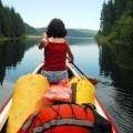 Женщина на лодке - Woman on boat