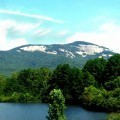 Горы с озером - Mountain lake