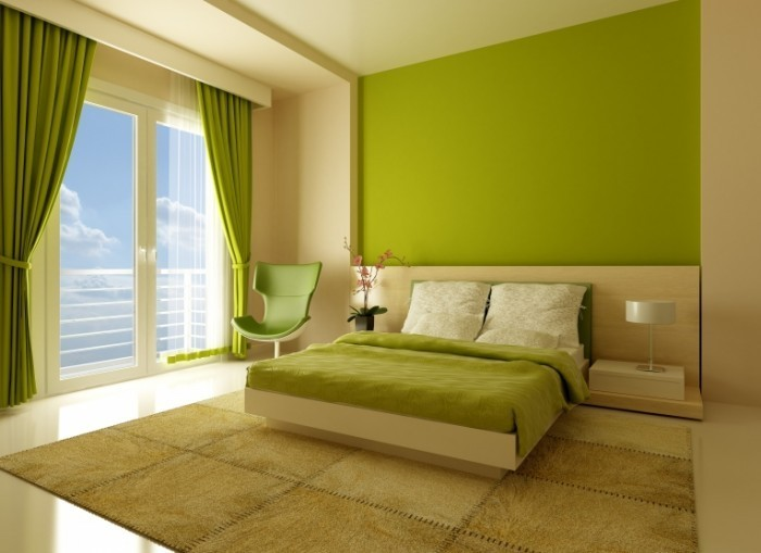 fotolia 12096556 700x509 Интерьер спальни   Interior bedrooms