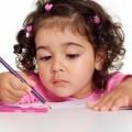 Девочка с карандашом - Girl with pencil