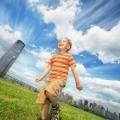 Мальчик на траве - Boy on the grass