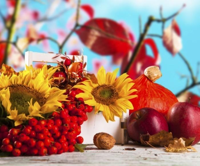 Autumn istock 1024x850 700x581 Осенний натюрморт   Autumn Still Life