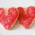 Печенье сердечки - Cookies hearts