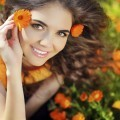 Девушка с цветком - Girl with the flower