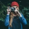 Девушка с фотоаппаратом - Girl with camera