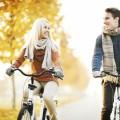 Пара на велосипедах - Couple on bicycles