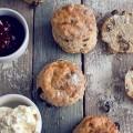 Кексы с джемом - Muffins with jam