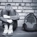 Подросток с рюкзаком - Teenager with a backpack