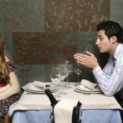 Пара в ресторане - Couple in restaurant