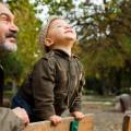 Дедушка с внуком - Grandfather and grandson