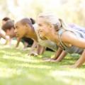 Тренировка на природе - Training on nature