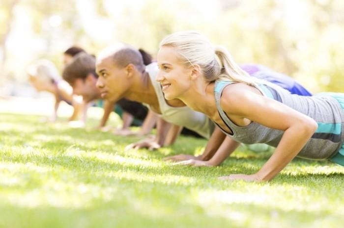 istock 000044900794medium 700x465 Тренировка на природе   Training on nature