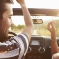 Парень с девушкой в авто - Guy with the girl in the car