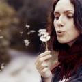 Девушка с одуванчиком - Girl with dandelion