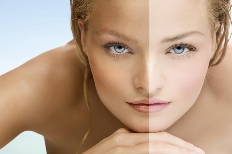Как сделать кожу на лице светлой