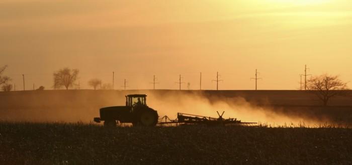 istock 000007228944large 700x328 Трактор в поле   Tractor in a field