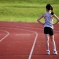 Девочка на беговой дорожке - Girl on the treadmill