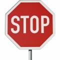 Знак стоп - Stop sign