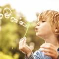 Мальчик с мыльными пузырями - Boy with soap bubbles