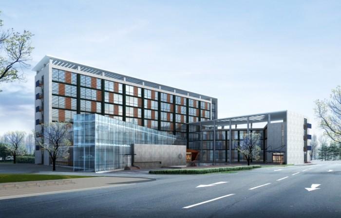 shutterstock 77197144 700x448 Стеклянное здание    Glass Building