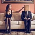 Пара на диване - Couple on the couch