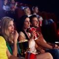 Молодежь в кинотеатре - Young people in the cinema