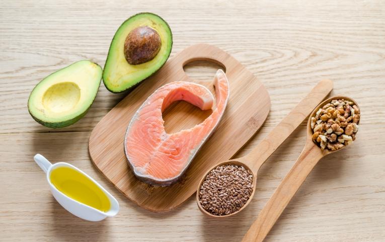 Авокадо и красная рыба — Avocado and red fish
