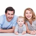 Семья с малышом - Family with baby