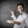 Мужчина у доски - Man at the blackboard