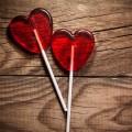 Леденцы сердечки - Heart lollipops