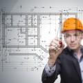 Строитель с чертежами - Construction worker with blueprints