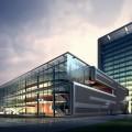Стекляное здание - Glass Building