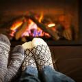 Ноги у камина - Legs fireplace