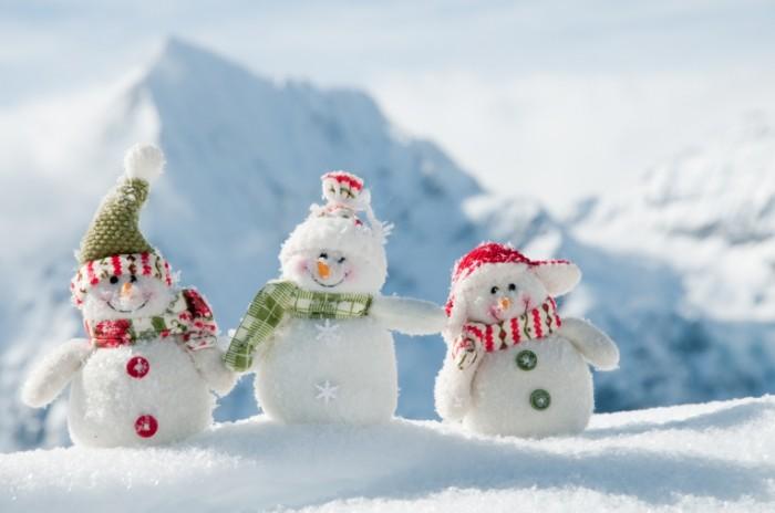 shutterstock 616972421 700x464 Снеговики   Snowmen