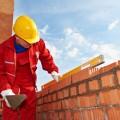 Строитель и кирпичи - Builder and bricks