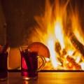 Чай у камина - Tea by the fireplace