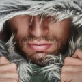 Мужчина в меховом капюшоне - Man in a fur hood