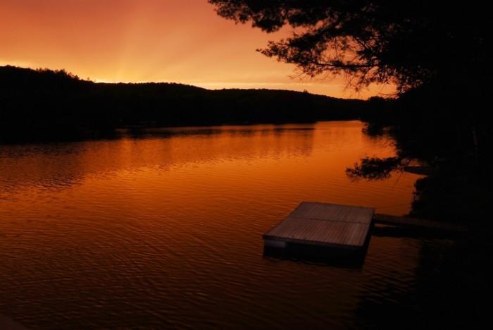 Dollarphotoclub 71245147 700x468 Красивый закат   Beautiful sunset