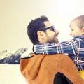 Папа с сыном - Dad and son