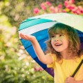 Девочка с зонтом - Girl with umbrella