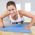 Девушка на тренировке - Girl on training