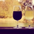 Красное и белое вино - Red and white wine